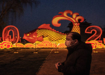 Triste año nuevo chino, miles de personas no pudieron celebrar por el coronavirus. América Digital. AFP