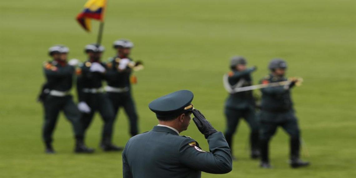 Fuerzas Armadas de Colombia. EFE