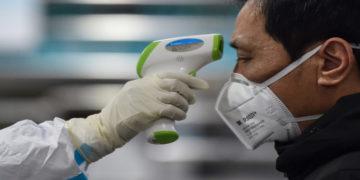 Aparatos para detectar el coronavirus en China. América Digital/AFP