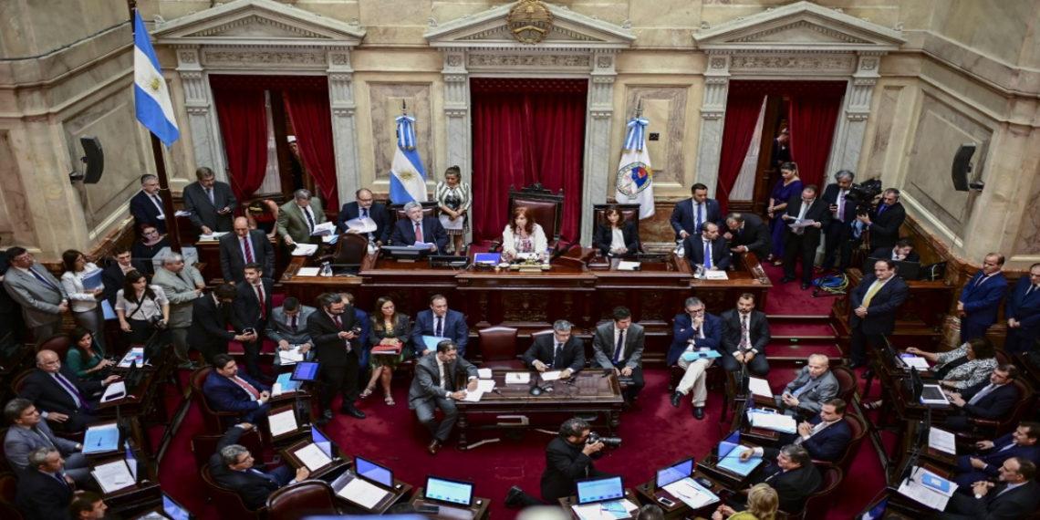 Congreso de Argentina. AFP