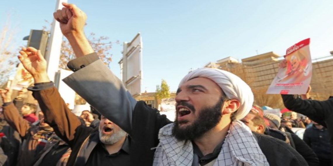 Protestas en Irán por avión derribado. AFP