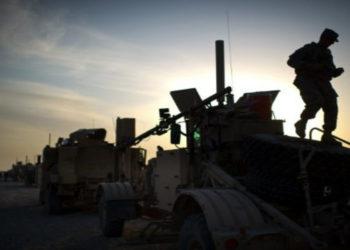 Imagen de referencia de tropas militares en Irak. AFP