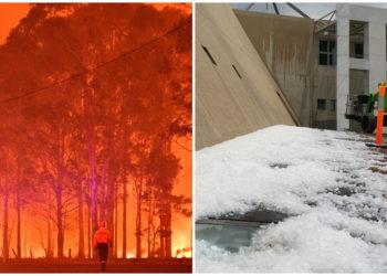 Crisis climática en Chile. AFP