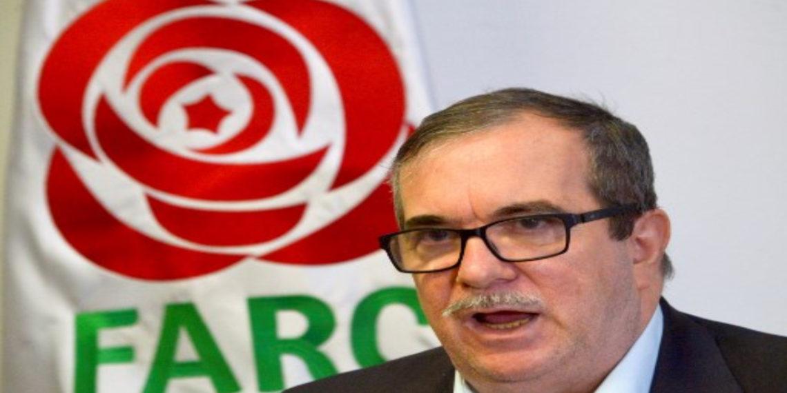 presidente del partido FARC, Rodrigo Londoño, Timochenko. AFP