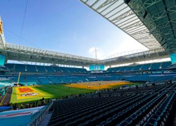 Hard Rock Stadium de Miami Gardens, Florida, Super Bowl 2020. América DIgital. AP
