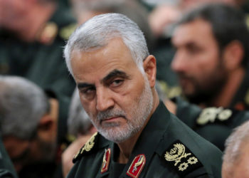 El general iraní Qasem Soleimani, muerto en un bombardeo de EE.UU. Foto: EFE