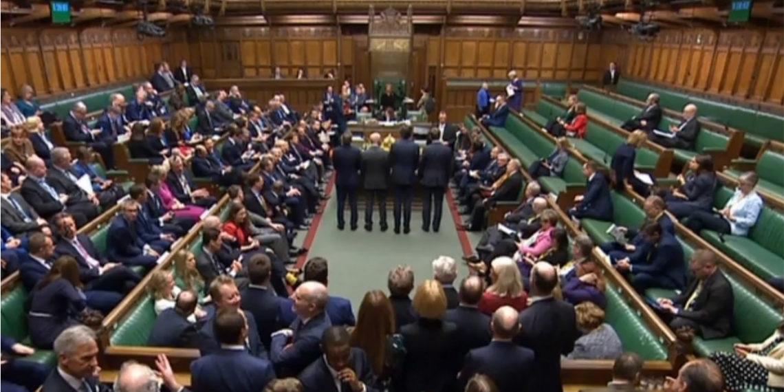 Parlamento Británico. Foto: AFP