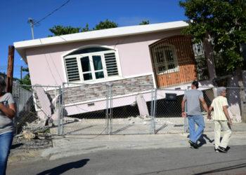 Terremoto de 6.4 grados sacudió a Puerto Rico. Foto: AP