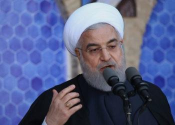 El presidente de Irán, Hasán Rohani. Foto: AFP