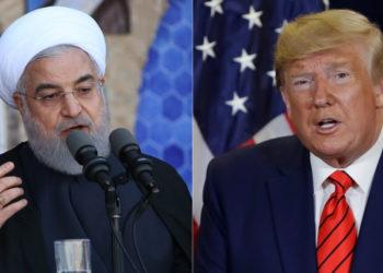 El presidente de Irán, Hasán Rohani y el presidente de EE.UU. Donald Trump. Foto: AFP / AP