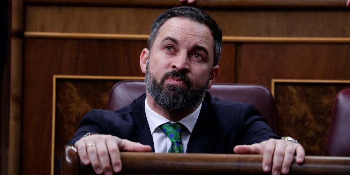El líder de Vox (ultraderecha), Santiago Abascal. Foto: AP