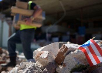 Los terremotos afectaron gravemente a Puerto Rico. Foto: AP