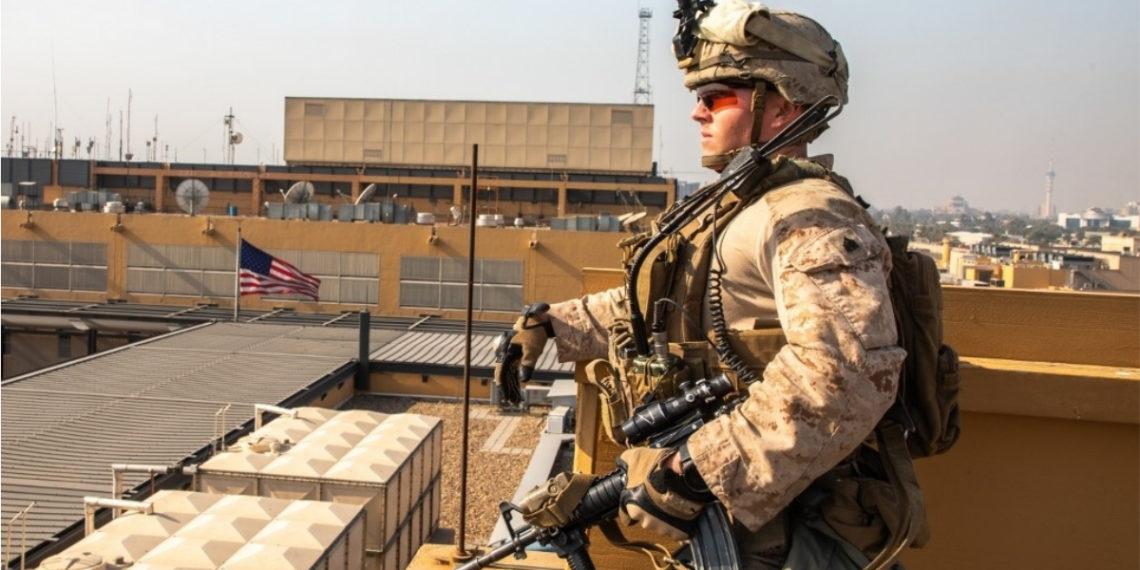 Soldado de Estados Unidos en Irak. Foto: AFP