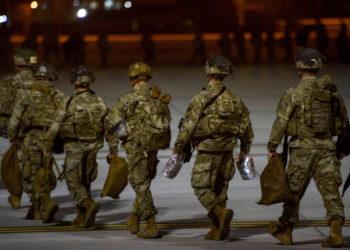Tropas estadounidenses en Medio Oriente. Foto: AP