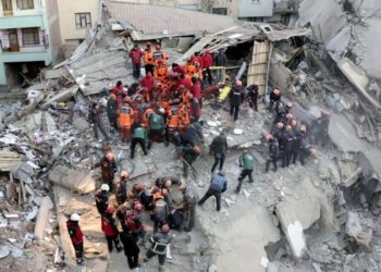 Terremoto en Turquía dejó 41 muertos tras finalizar las operaciones de rescate. Foto: AP