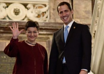 Visita de Guaidó a España