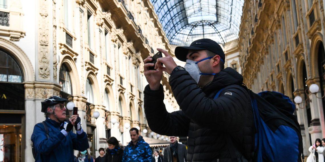 Milán, Italia. Luego de las Medidas de seguridad para prevención del virus. (AFP)