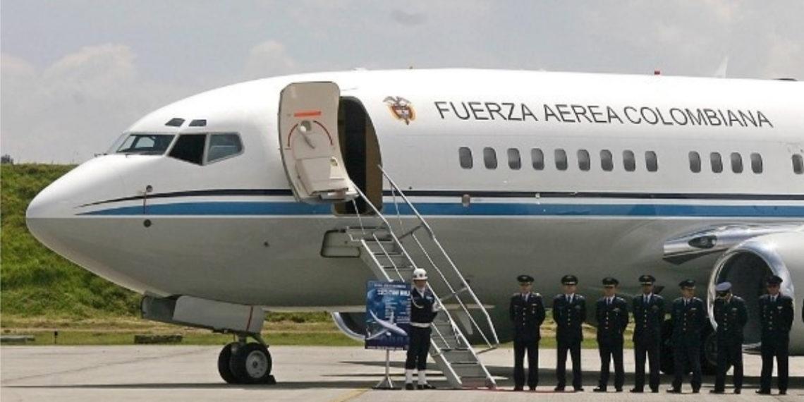Controversia en Colombia por uso del avión presidencial para supuestos fines particulares. Foto: AFP