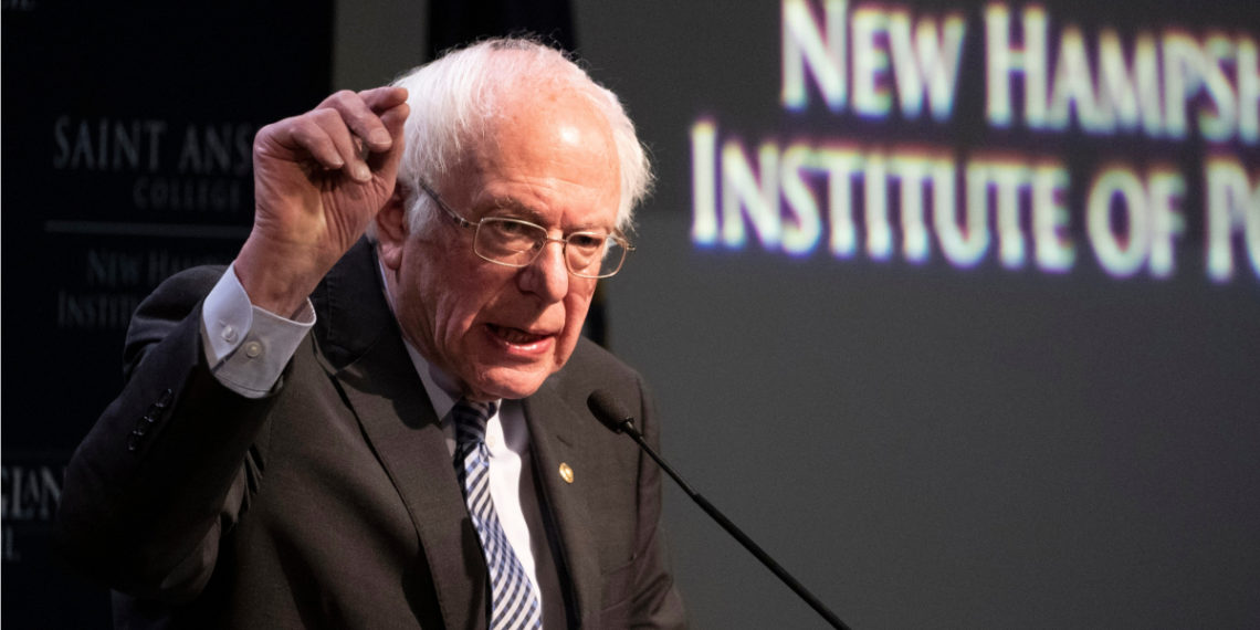 Bernie Sanders, candidato presidencial demócrata. Foto: AFP
