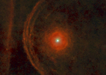 Descubren que la estrella Betelgeuse viene perdiendo su brillo en la Vía Láctea. Foto: Agencia Espacial Europea (ESA)