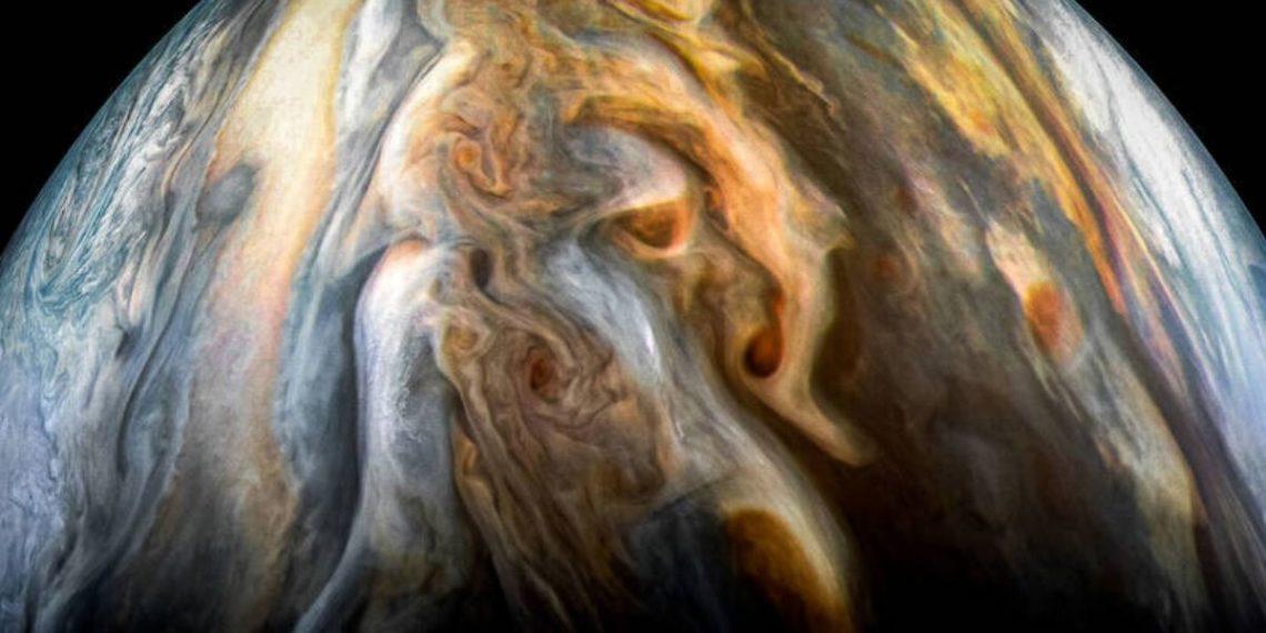La NASA confirma una mayor presencia de agua en Júpiter. Foto: Nasa