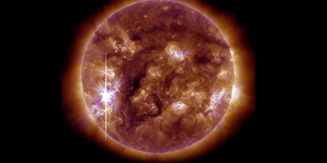 Descubren que una tormenta magnética podría afectar a la Tierra cada 25 años. Foto: NASA