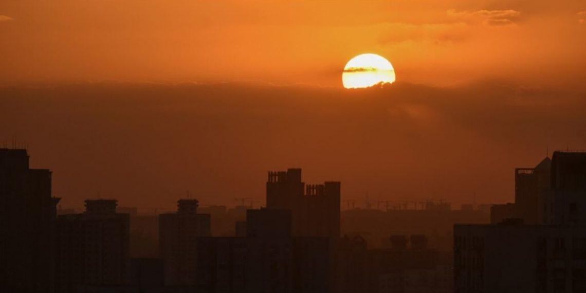 Sol en China. América Digital/AFP