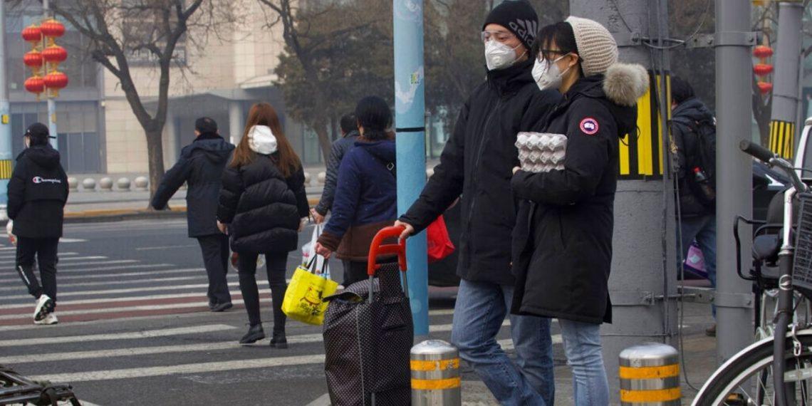 Imagen de referencia sobre el Coronavirus en China. América Digital. AP
