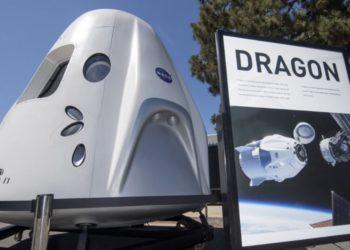 Foto de archivo, la nave espacial SpaceX Dragon, diseñada para transportar personas y carga a destinos en órbita. América Digital/AFP