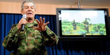 general en retiro Mario Montoya, excomandante del Ejército de Colombia. América Digital. AFP