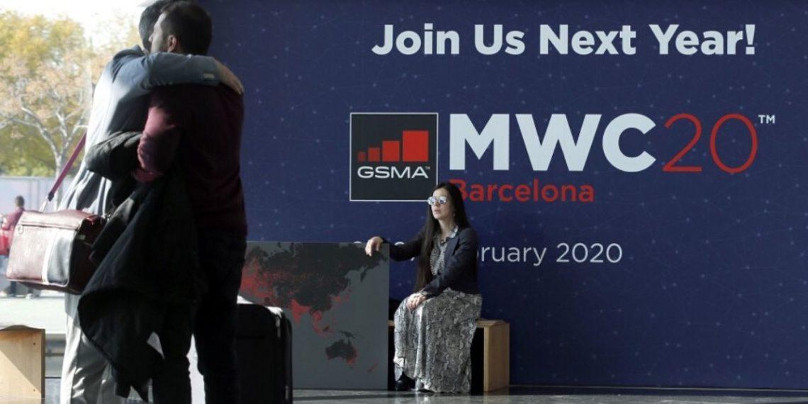 El Congreso Mundial del Móvil (MWC), fue cancelado ante el temor por el coronavirus. Foto: AFP