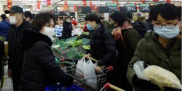 Mercado en China. AP