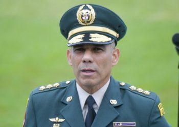 Comandante del Ejército de Colombia, Eduardo Zapateiro. América Digital/AFP