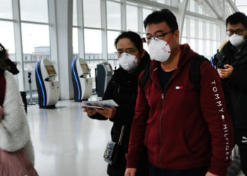 EE.UU. aumenta restricciones por el coronavirus a viajeros que ingresen al país desde China. Foto: AFP