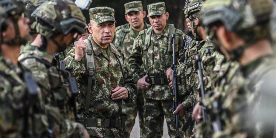 Fuerza Pública logró frustrar 94 atentados durante el paro armado del ELN. Foto: AFP