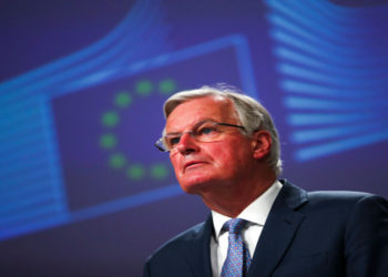 El negociador de la Unión Europea para el Brexit, Michel Barnier. América Digital/AP