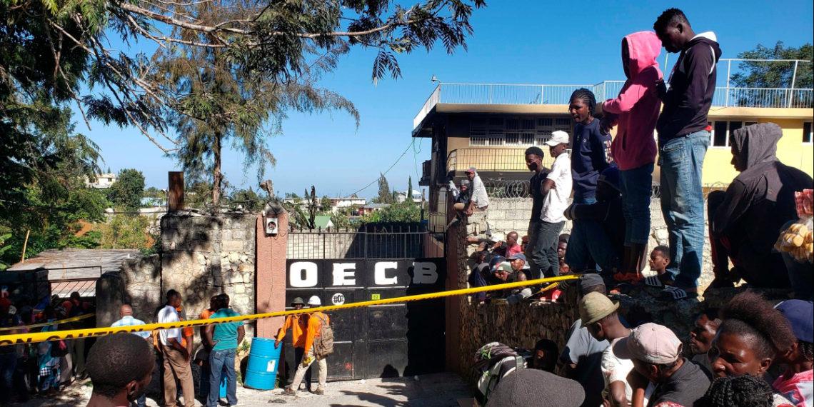 Incendio de un orfanato en Haití deja 15 niños muertos. Foto: AP