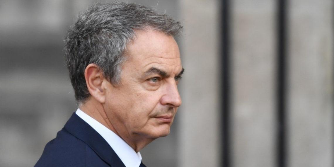 El expresidente del Gobierno de España José Luis Rodríguez Zapatero. Foto: AFP