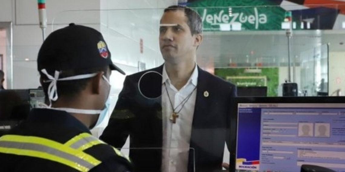 Juan Guaidó llega a Venezuela en medio de tensión y amenazas por parte de cuerpos de seguridad. Foto: @Presidencia_VE
