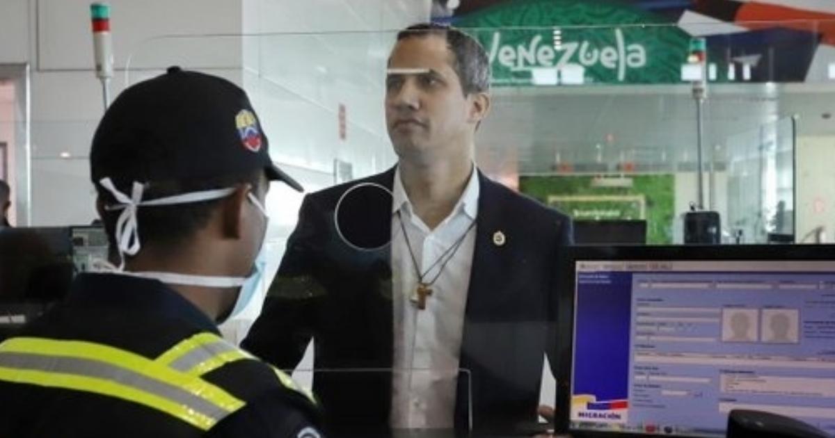 Image result for guaido llega a venezuela