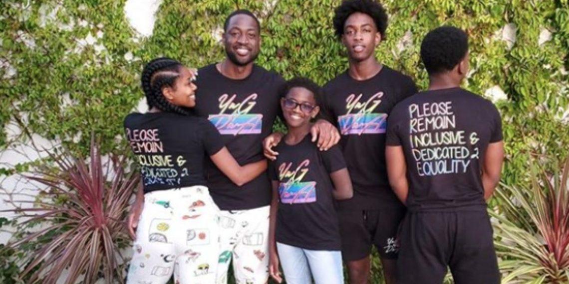 Dwyane Wade habla sobre su reacción al conocer que su hija de 12 años se declaró transexual