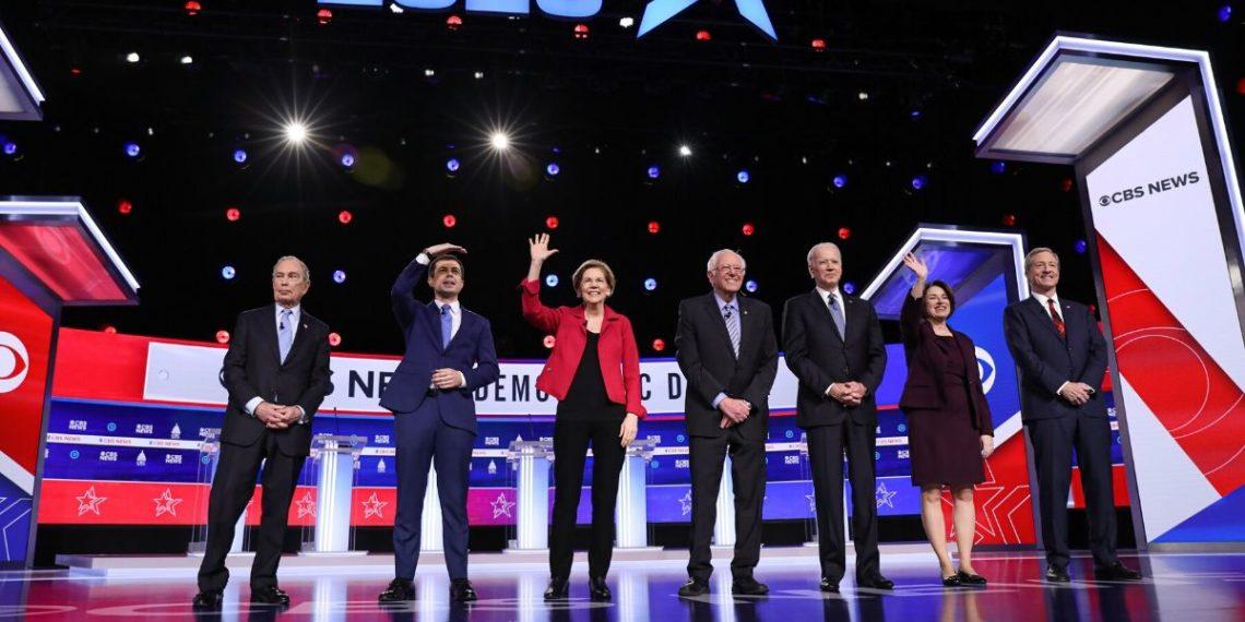 Debate Demócrata, AFP