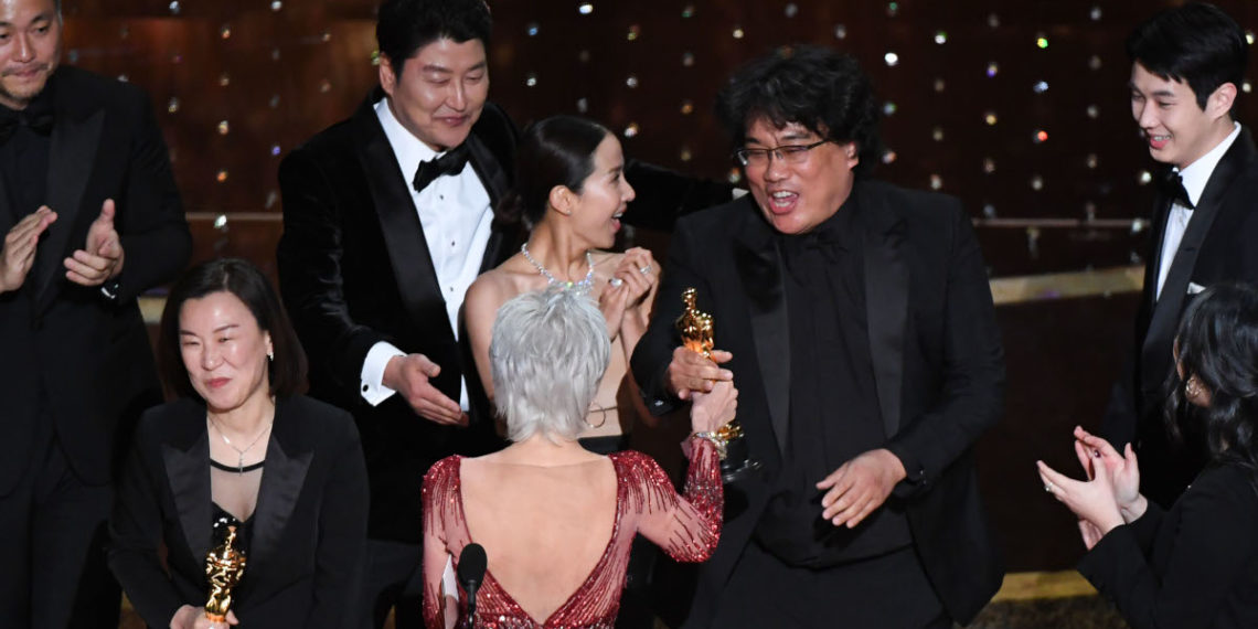 Parasite ganó el Oscar a mejor película. Foto: AFP
