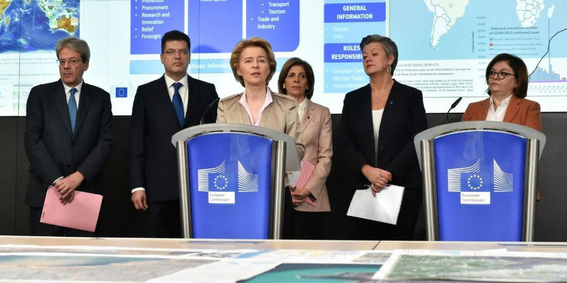 Comisión de la Unión Europea. Foto: AFP