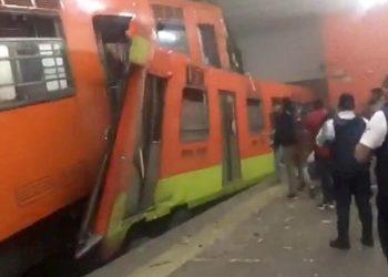 Choque metro México