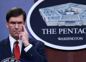 El secretario de Defensa de EEUU, Mark Esper. Foto: AP