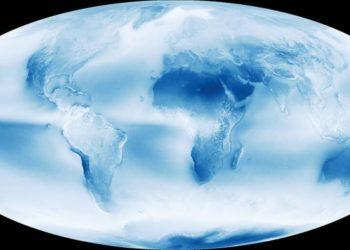 Imagen de referencia de la Tierra. Foto: NASA
