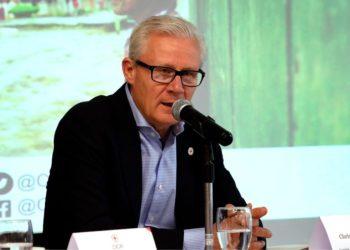 El jefe de delegación del Comité Internacional de la Cruz Roja para Colombia, Christoph Harnisch. Foto: EFE