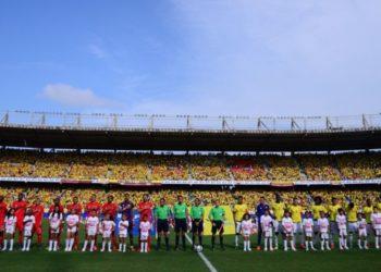 Estadio Metropolitano de Barranquilla en Colombia. Foto: AFP