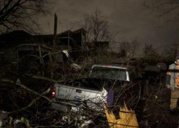 Tornado Tennessee, estados unidos. AFP